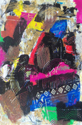 Laurence Chandler, abstract art, expressionism, graphiti gems, maryland, original art, acrylic