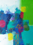 laaurence chandler, abstract art, graphiti gems, washington, dc, african american, contemporary art