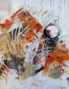 Laurence Chandler, American Painter, Abstract, Vango, Zatista, VIDA, Originals, Encryptions