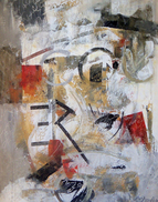 Laurence Chandler, American Painter, Abstract, Vango, Zatista, Shop VIDA, Original Paintings, DC