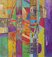 laurence chandler, the red blaze is the morning, abstract art for sale, abstract expressionism,