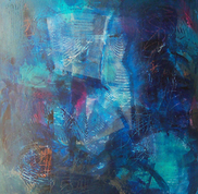 Laurence Chandler, Effervescence, original art, washington dc, abstract, ARTOMATIC, graphiti gems