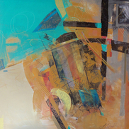 Laurence Chandler Fine Art, Motivity, abstract, original art, Washington DC, Artomatic, graphiti gem