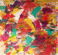 laurence chandler, Covered by a Single Stitched Thread, vango art, graphiti gems, abstract art